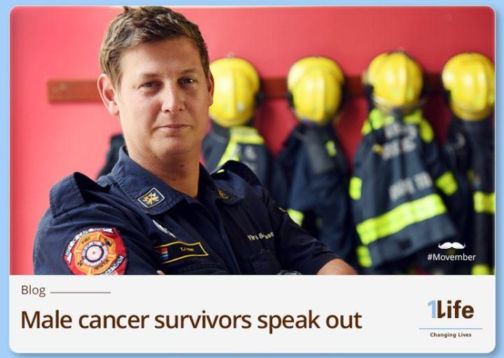 1Life Movember fire fighter cancer survivor