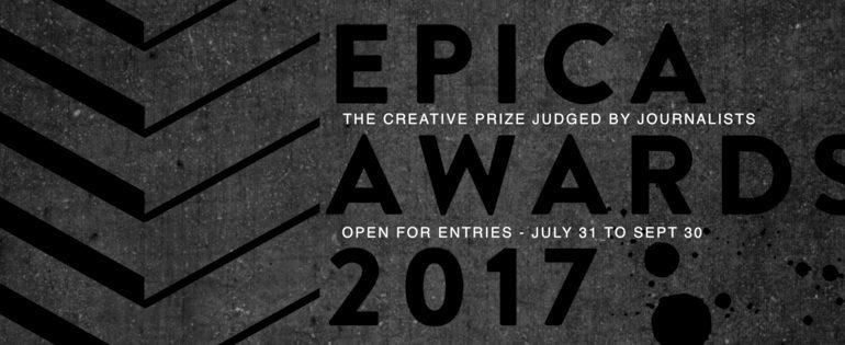 2017 Epica Awards banner