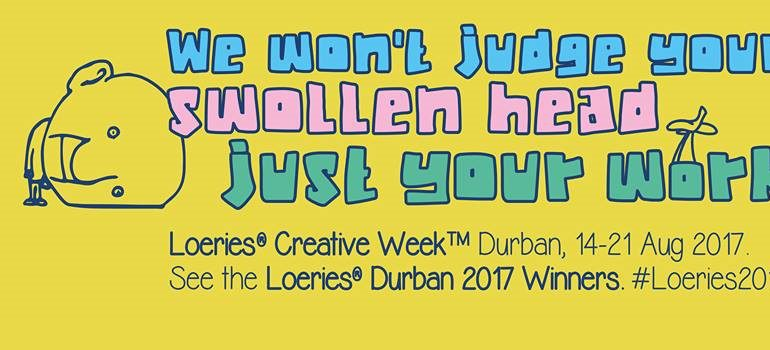 2017 Loeries creative campaign Facebook cover image