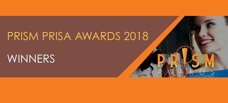 2018 PRISM Awards winners