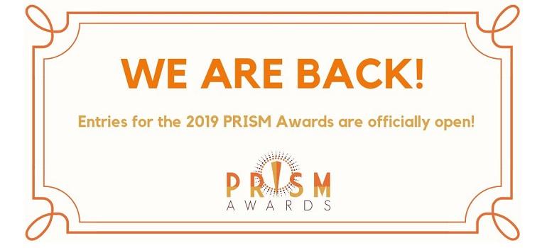 2019 PRISM Awards call to enter