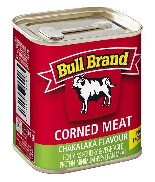 300g Bull Brand Corned Meat Chakalaka Flavour