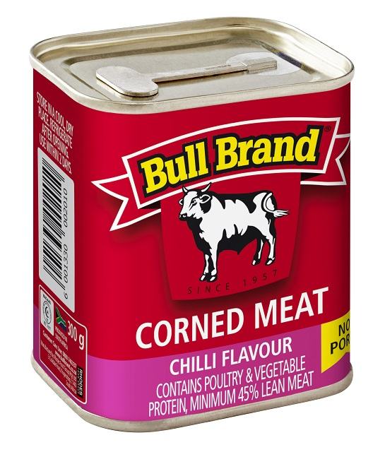 300g Bull Brand Corned Meat Chilli Flavour