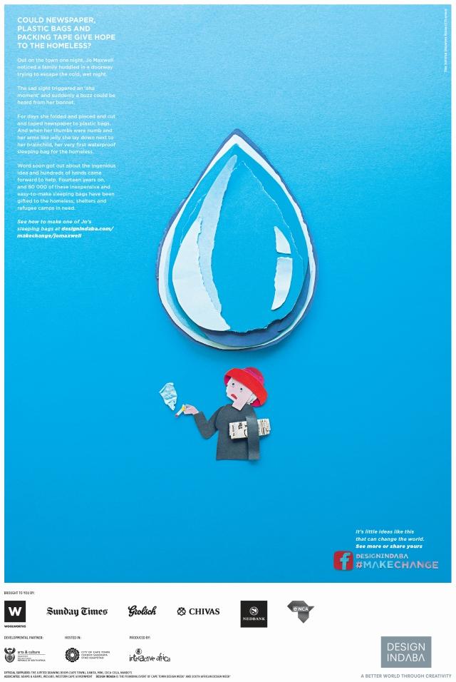 Design Indaba Press Raindrop