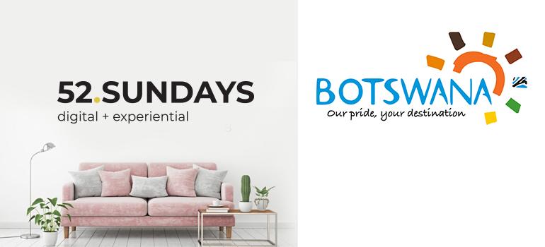 52 Sundays logo and Brand Botswana logo