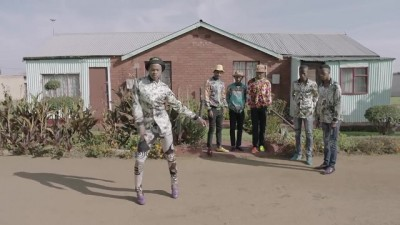 5FM Without 5 TVC screengrab township dancing