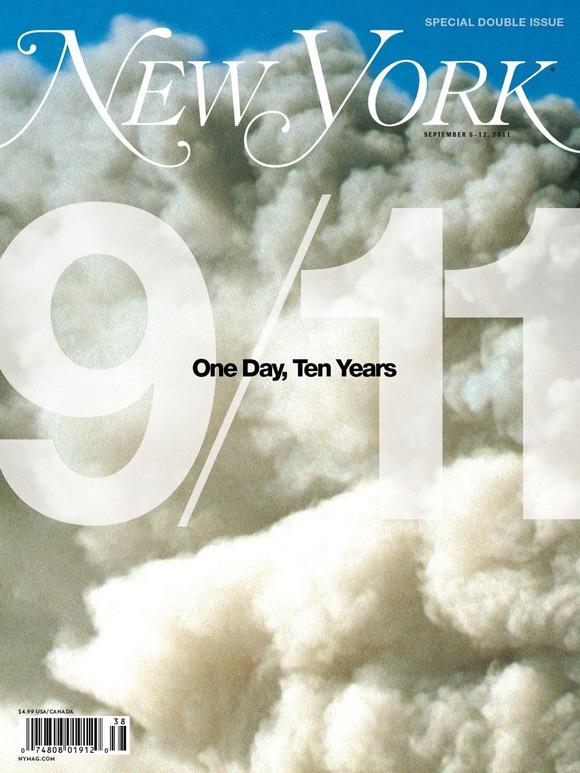 New York magazine cover 9/11