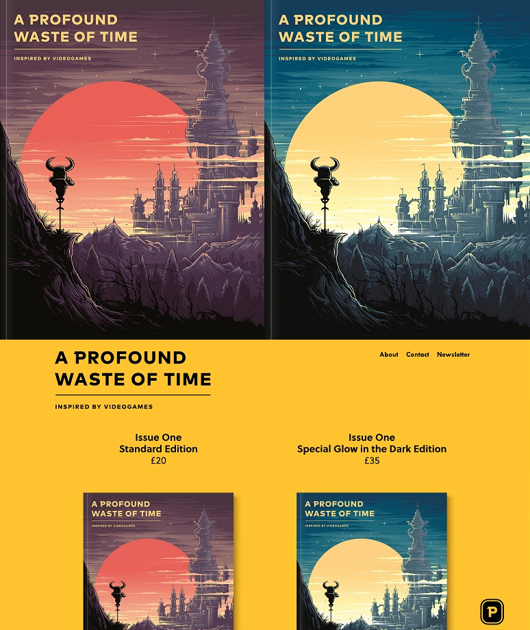 A Profound Waste of Time collage