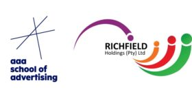 AAA School of Advertising logo and Richfield logo