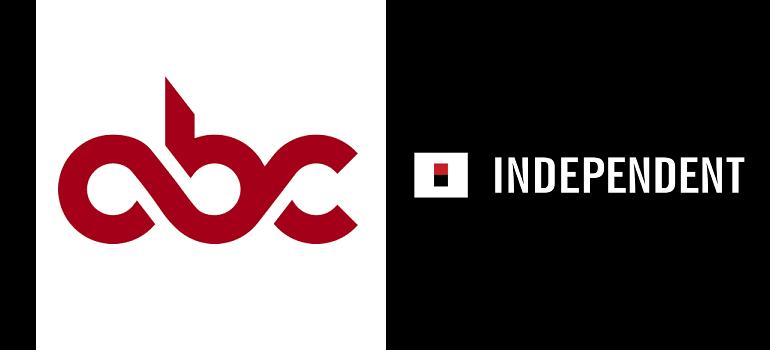 ABC logo and Independent Media logo