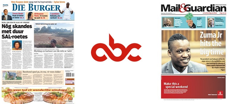 ABC results newspapers slider Feb 2016