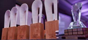 AMASA Awards 2018 trophies