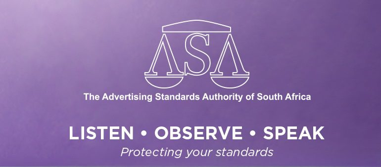 Advertising Standards Authority of South Africa (ASA) logo