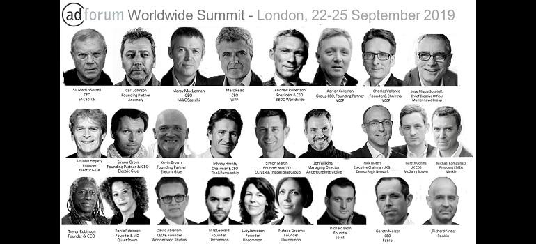 AdForum Worldwide Summit London September 2019