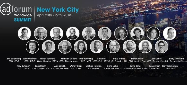 AdForum Worldwide Summit NYC April 2018