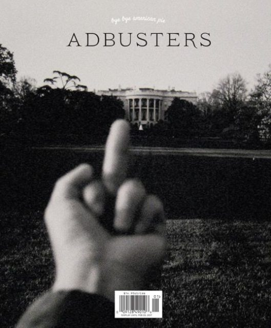 Adbusters, Issue #129: Donald Trump
