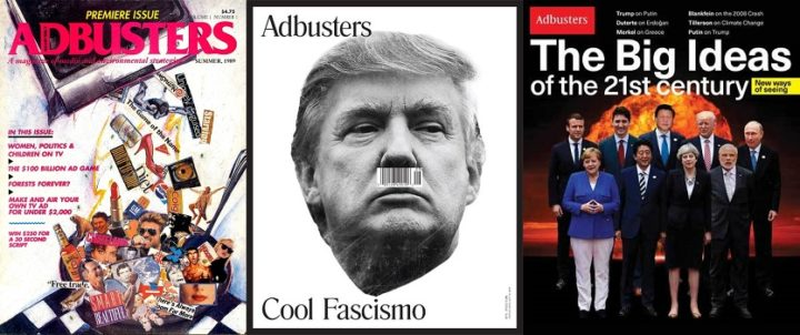 Adbusters issues 1, 127 and 135