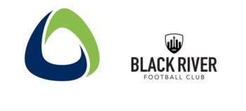 African Bank logo and Black River FC logo