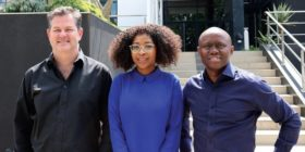 Alan Bell, Makosha Maja-Rasethaba, Jerry Mpufane