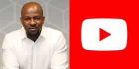 Alex Okosi and YouTube logo