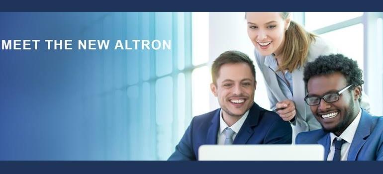 Altron Facebook cover image
