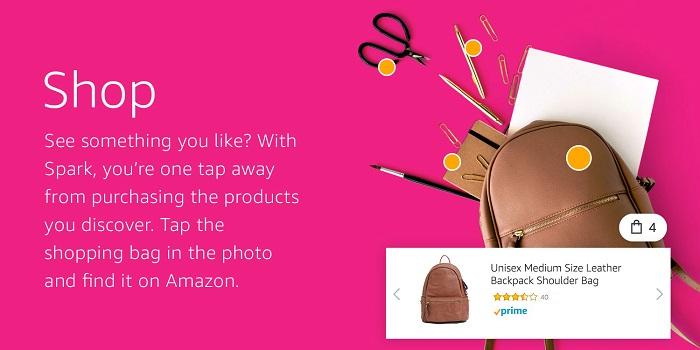 Amazon Spark shop
