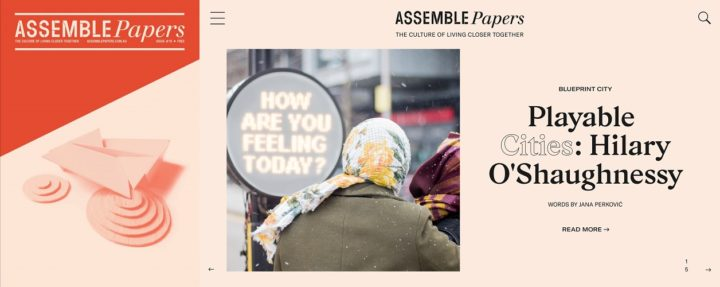 Assemble Papers, issue 10, February 2019 - print and online