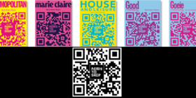 Associated Media QR codes Ready to Shop