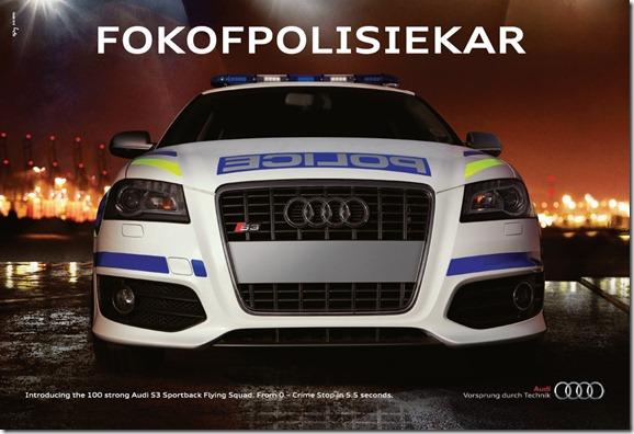 Audi S3 Fokofpolisiekar