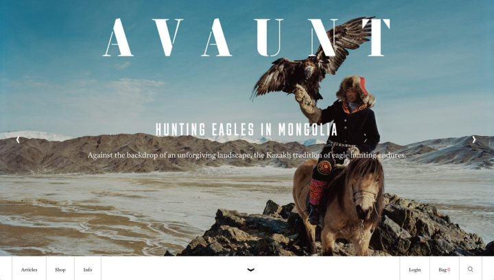 Avaunt online, May 2018