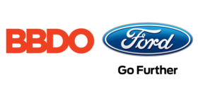 BBDO logo and Ford logo