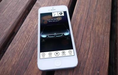 BMW i3: The Talking Car iPhone