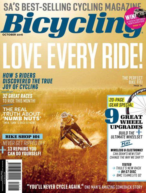 Bicycling, October 2016