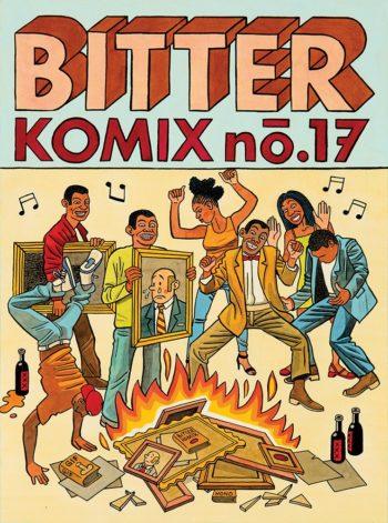 Bitterkomix, issue 17, 2016