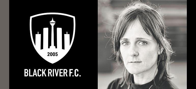 Black River FC logo and Roanna Williams