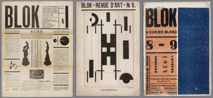 Blok issue 1 1924, issue 5 July 1924 & issue 8-9 November-December 1924