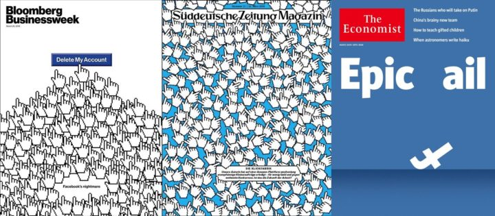 Bloomberg Businessweek 26 Mar 2018, Süddeutsche Zeitung 23 Mar 2018 and The Economist 24-30 Mar 2018