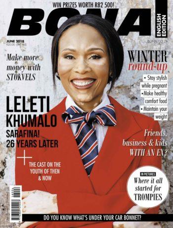 Bona, June 2018 - Leleti Khumalo