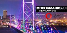 Bookmarks 2016 Facebook cover image with Opera sponsor