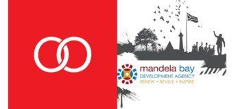 Boomtown logo and Mandela Bay Development Agency logo