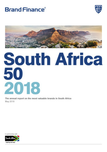 Brand Finance South Africa 50 2018 cover