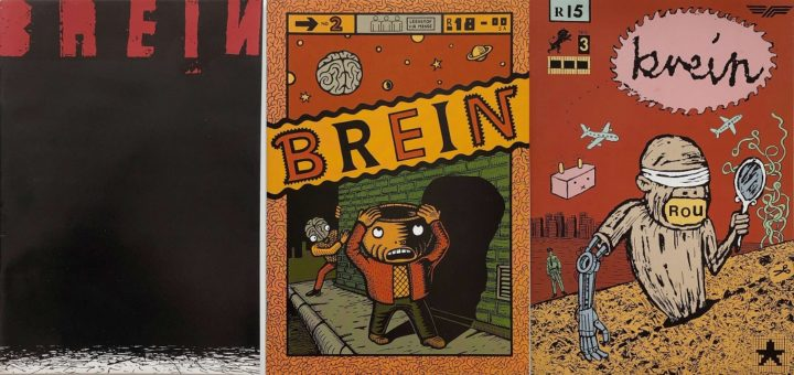 Brein, issue 1 1998, issue 2 March 1999 and issue 3 March 2000
