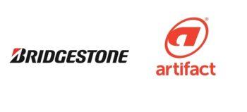 Bridgestone logo and Artifact Advertising logo