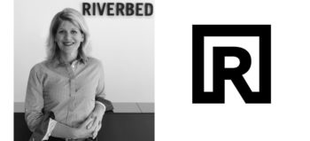 Bridget Johnson and Riverbed logo