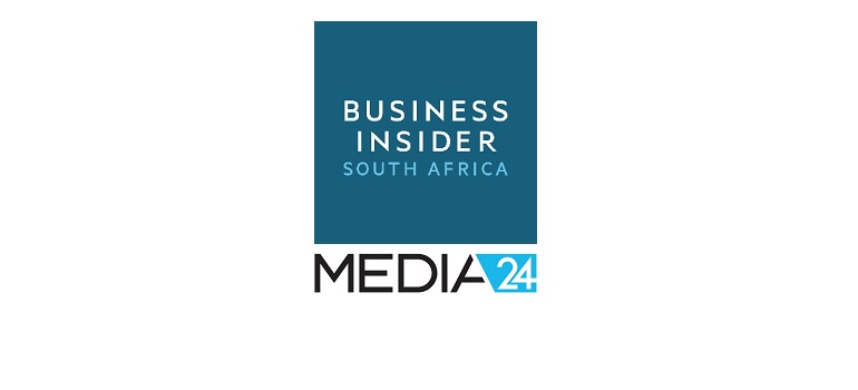 Business Insider South Africa logo and Media24 logo