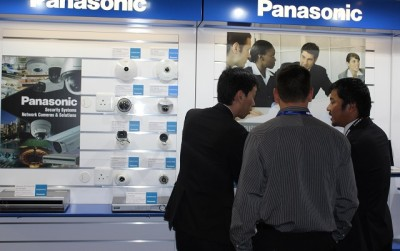 Business-to-business products on show at the Panasonic 2015 launch