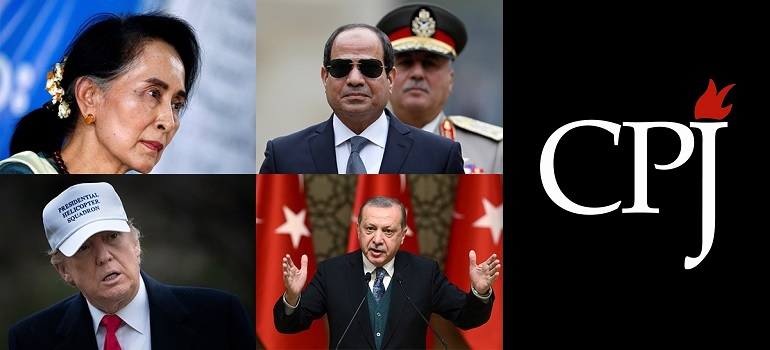 CPJ Global Press Oppressors