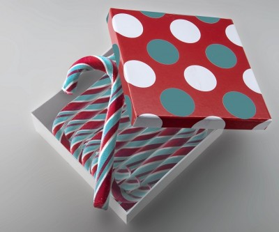 Candystick gift box