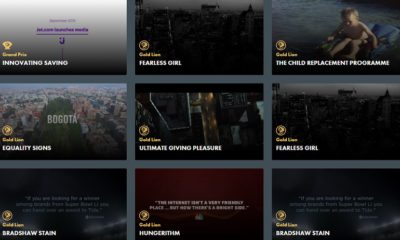 Cannes Lions 2017 Media screengrab