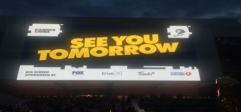 Cannes Lions: See you tomorrow